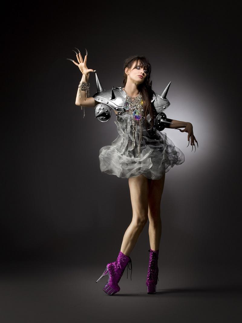 Aug 23, 2009 Photographer- Robert Sebree/ Talent- Juliette Lewis/ M u& H- Cazzie/ Dress- GLAZA
