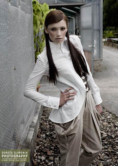Female model photo shoot of ephemer in garden