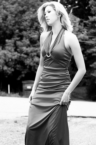 Female model photo shoot of CinZ by John Jarvis