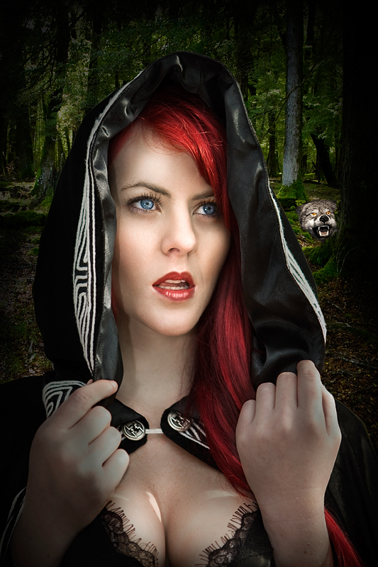 Aug 24, 2009 Paul Stevens Little red-haired riding hood