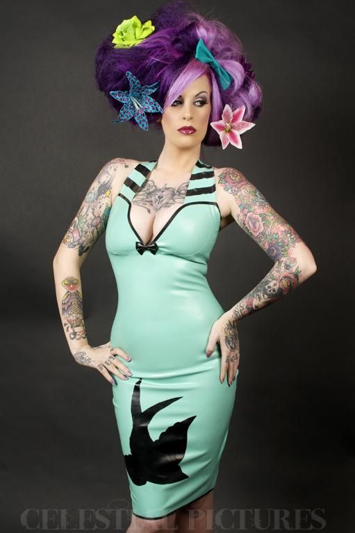 Aug 25, 2009 Kandy in swallow dress by Celestial Pictures