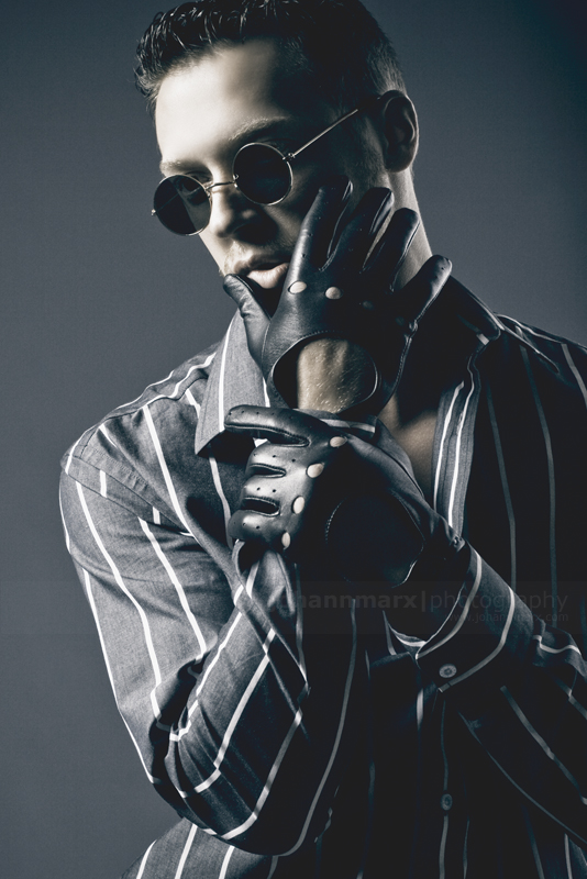 Male model photo shoot of Andre du Plooy by Johann Marx in Studio, Johannesburg, South Africa