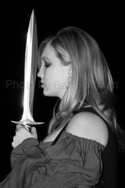 Female model photo shoot of Leighanne - The Feline by Ben Hoffy in Loch Raven