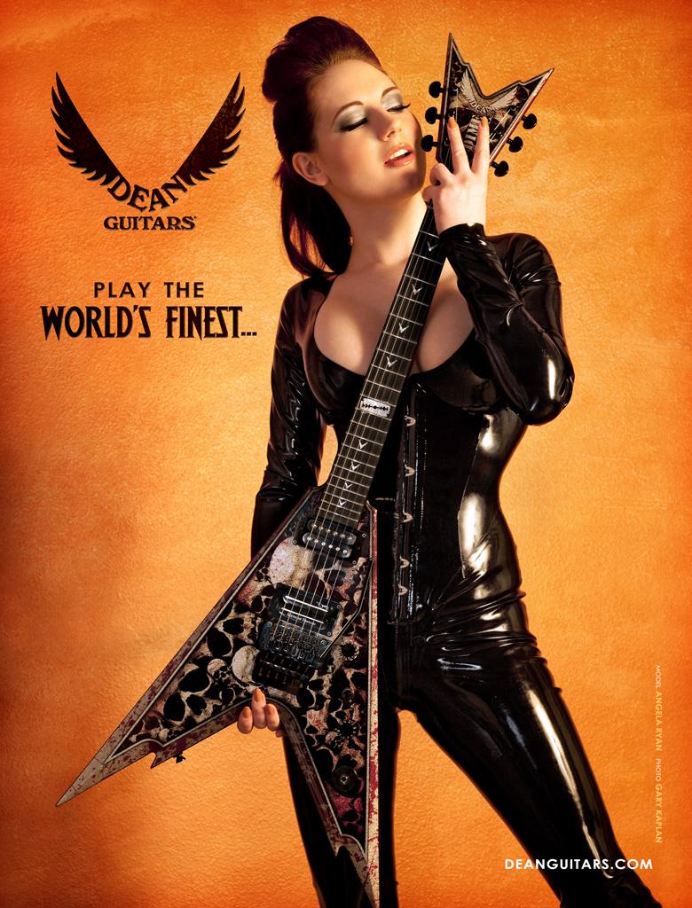 Tampa, FL Aug 27, 2009 Gary Kaplan Dean Guitars Ad