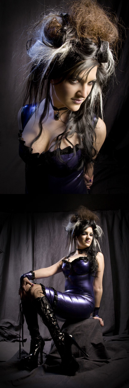 Aug 28, 2009 By: Underhill Photo - for Dollskin Designs Latex - Hair: Mary Kelly - MUA: Tempa Scott