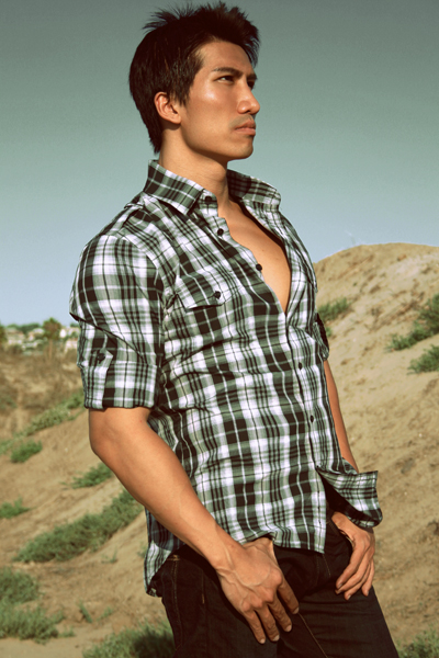 Male model photo shoot of Tom Hsiao in San Diego, makeup by Beautiful Makeup_Hair