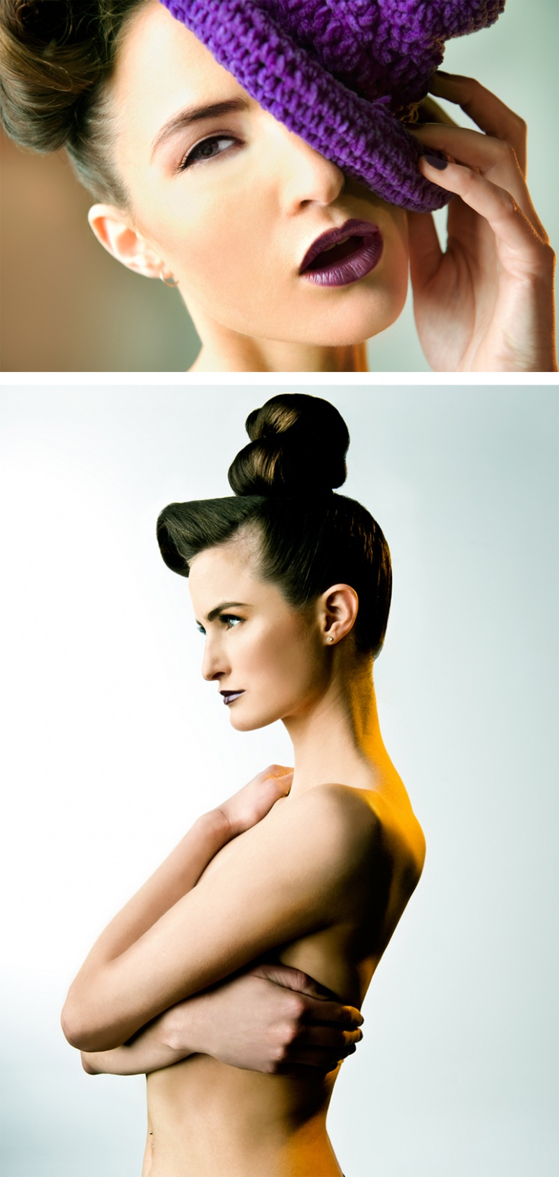 Female model photo shoot of Suryanty Thoeng , makeup by nyree leather
