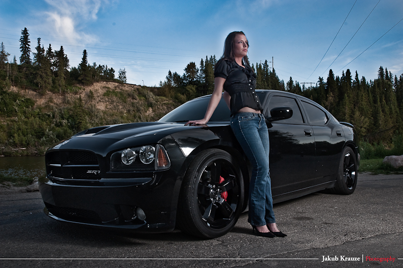 Male and Female model photo shoot of Kubowski and MBou in Red Deer