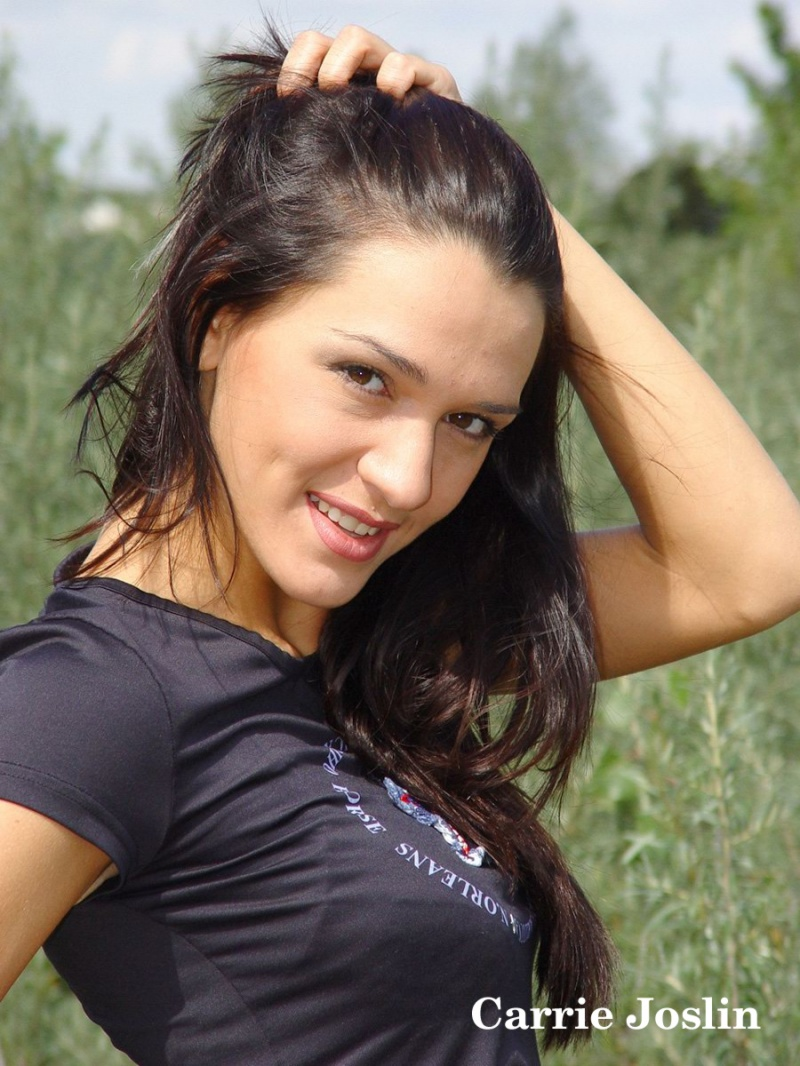 Aug 30, 2009 I have the right to publish Glamour Model Carrie Joslin