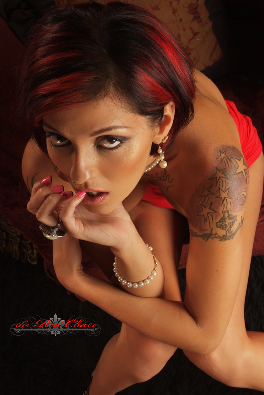 Female model photo shoot of Lady Swagger by THE RED CHAIR