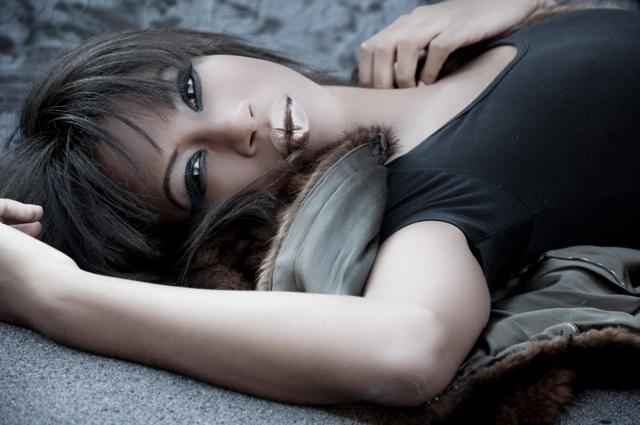 Female model photo shoot of Bre Sylvia MUA
