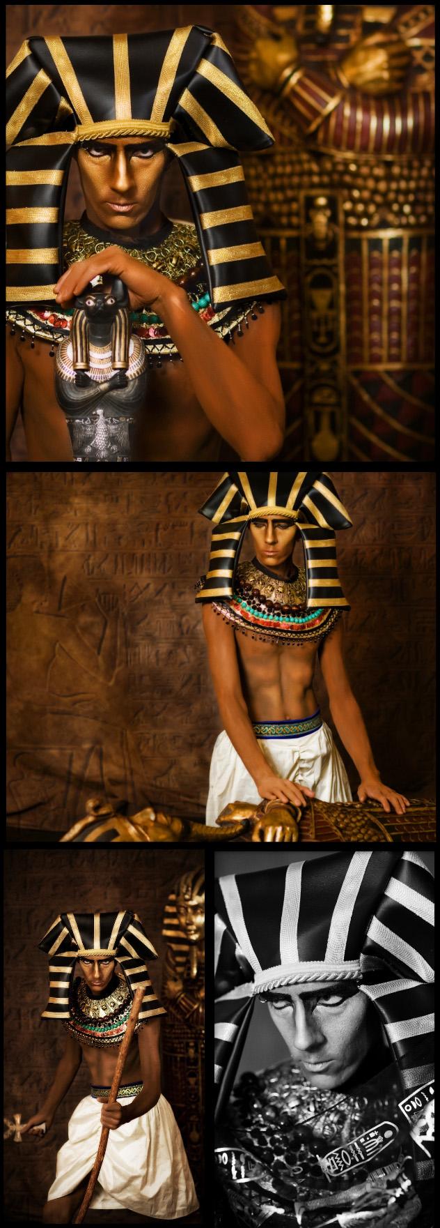 Denver, Colorado Sep 01, 2009 Living Incarnation of Anubis