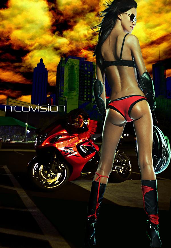 nicovision studios atl Sep 01, 2009 nicovision A twist on a biker shot? :-P