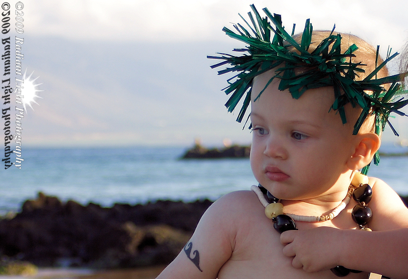 Kihei, Hawaii (Maui) Sep 01, 2009 Radiant Light Photography Model: Austin (1.5 yrs old)
