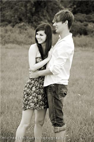 Male and Female model photo shoot of Sven and Kylie Ann by MICHAEL_ANTHONY
