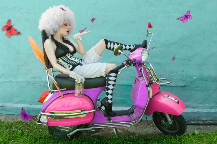 Sep 01, 2009 Alice In Wonderland Harlequin Underbust Corset