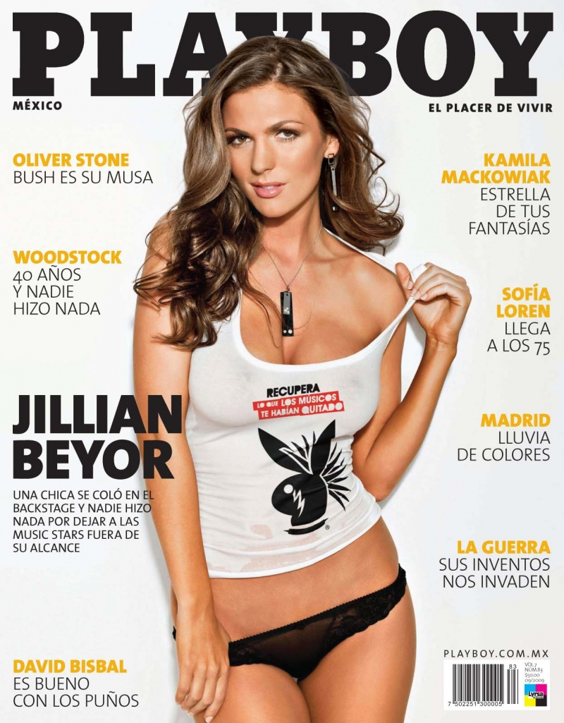 Mexico City  Sep 02, 2009 My new cover for Playboy Mexico