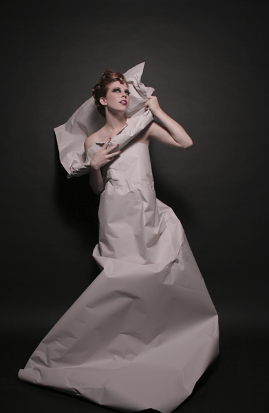 Chicago, IL Sep 02, 2009 Paper Dress.