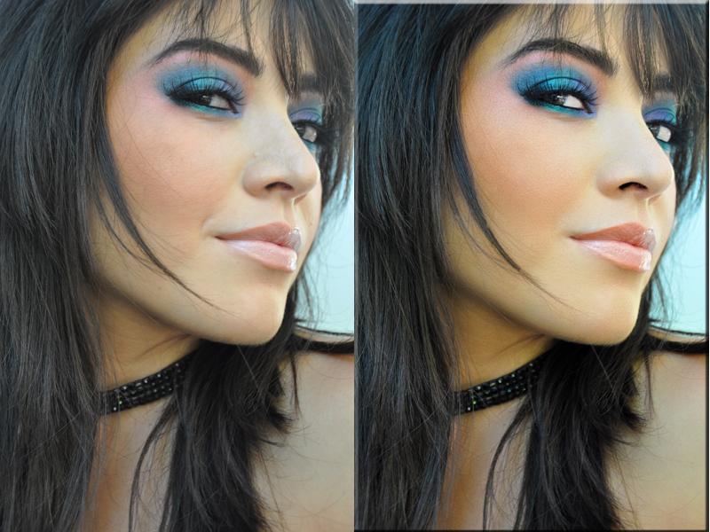 www.ikandymakeup.com Sep 03, 2009 MUA/Photographer  Karolina Almanzar Before and After