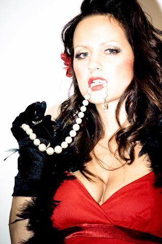 Female model photo shoot of western swing