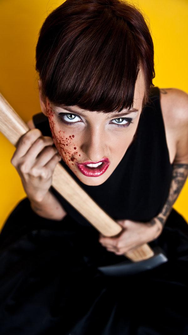 Female model photo shoot of Kate Toney and Johnny Munster by Jonny Nine Eighty-Five