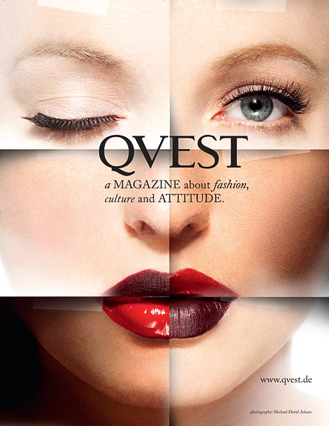 Sep 05, 2009 Michael David Adams Qvest Magazine Ad