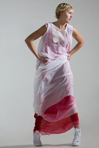 Female model photo shoot of Barbara F L in Studio