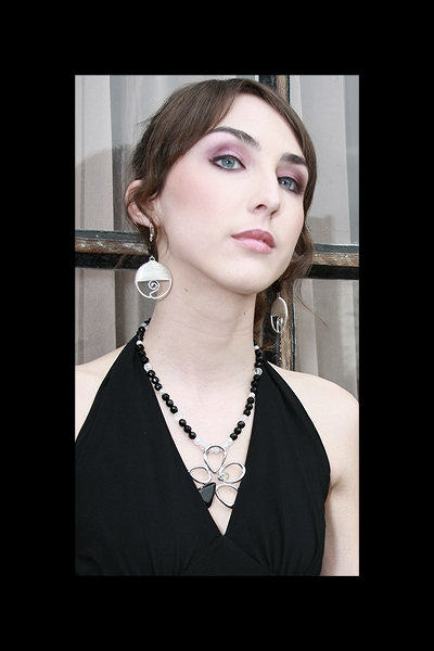Female model photo shoot of B Michele Designs
