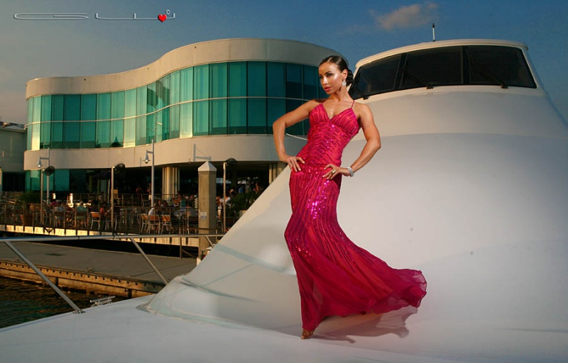 Sep 07, 2009 GW Burns The High Life....Natalia...Special thanks to Galati Yachts