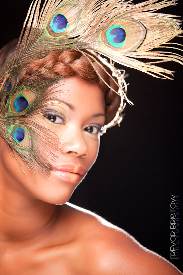 Female model photo shoot of Jade Skyy by Trevor Bristow in Anchorage, AK, makeup by Beyond Barbie