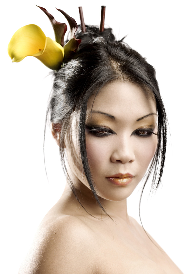 London Sep 08, 2009 Steve Brown Photography, MUA: Ryo Make-Up/ Beauty Shoot