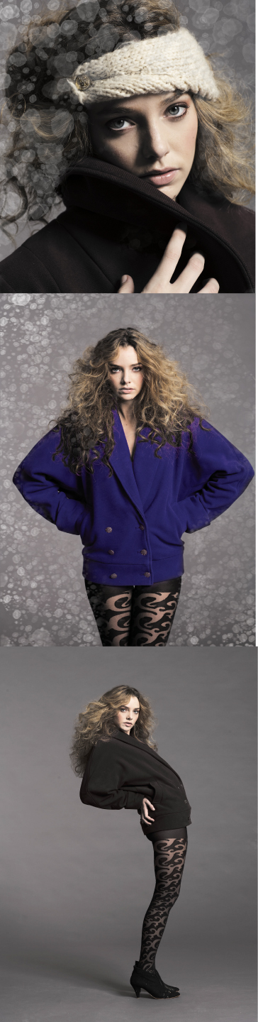 Jeff Stellas Studio Sep 08, 2009 Vaute Couture/by Jeff Stella FW09: Caitlin P/Ford in the El and the Bomono COATS