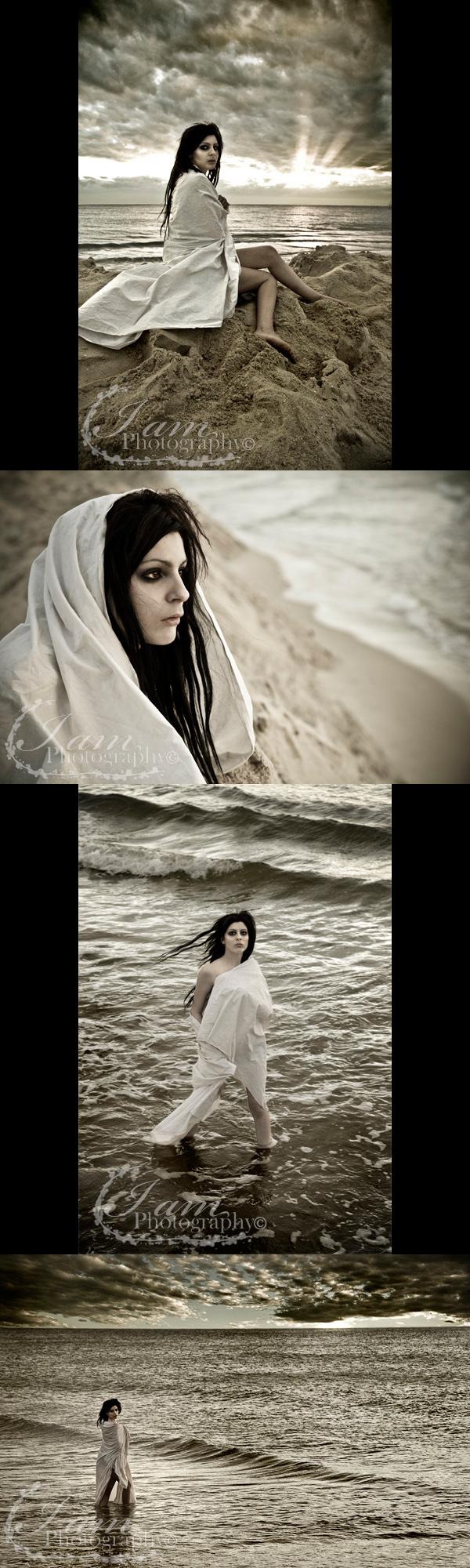 Female model photo shoot of Stacey-Rae Jones by Harry Millward Photos in Brighton Beach Adelaide