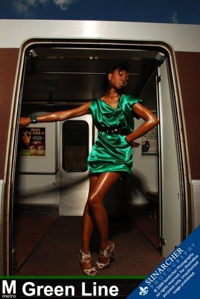 Female model photo shoot of Natavia in Branch Ave Station