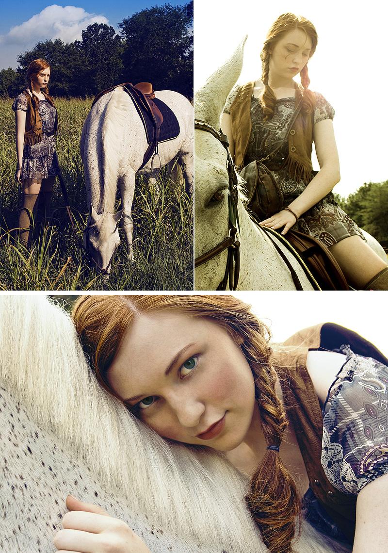Rose Equestrian Center Sep 10, 2009 Rebecca Brown CLICK Model-- Sarah Woods.