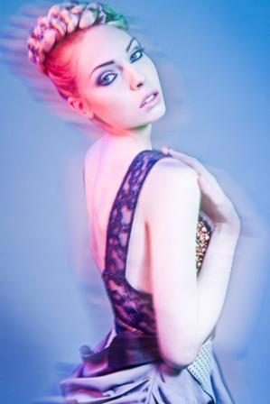 Female model photo shoot of Guru Makeup Emporium, makeup by Hila Karmand