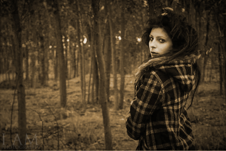 Female model photo shoot of Stacey-Rae Jones by Harry Millward Photos in A forrest in Adealide
