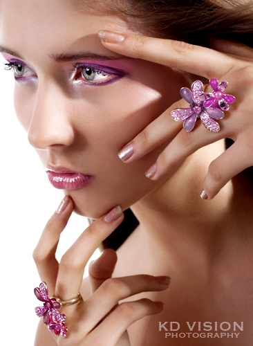 Sep 12, 2009 Ksenia Dzhalaganiya - Photography-make up-retouching by KD Beauty editorial (Model: Arina)