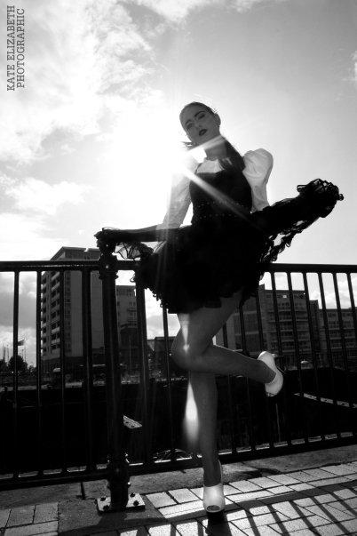 Female model photo shoot of Jazabella pro