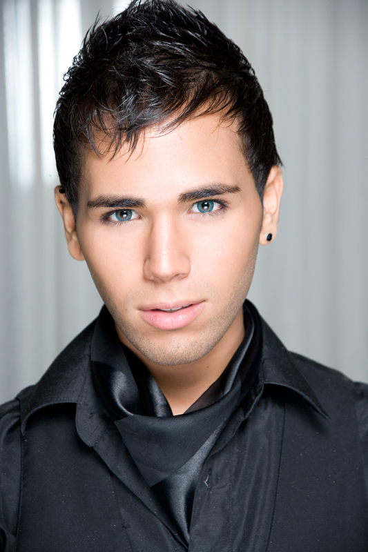 NYC Sep 12, 2009 Benjamin Hayon Couture Fashion Week (makeup artist headshot)