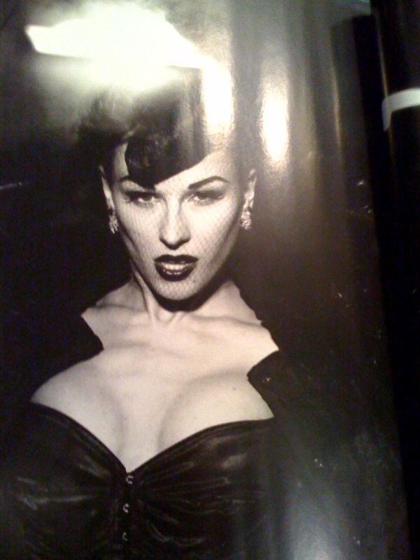Sep 13, 2009 photographed by PETER LINDBERGH !! one of 3 full pages of me in the german VOGUE !  issue october 09