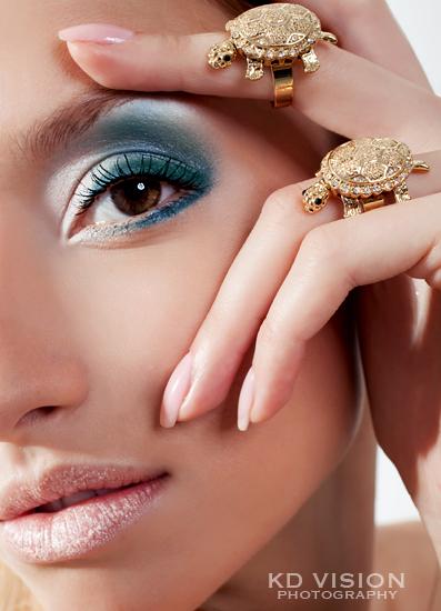 Sep 14, 2009 Ksenia Dzhalaganiya - Photography-make up-retouching by KD Beauty editorial (Model: Marina)