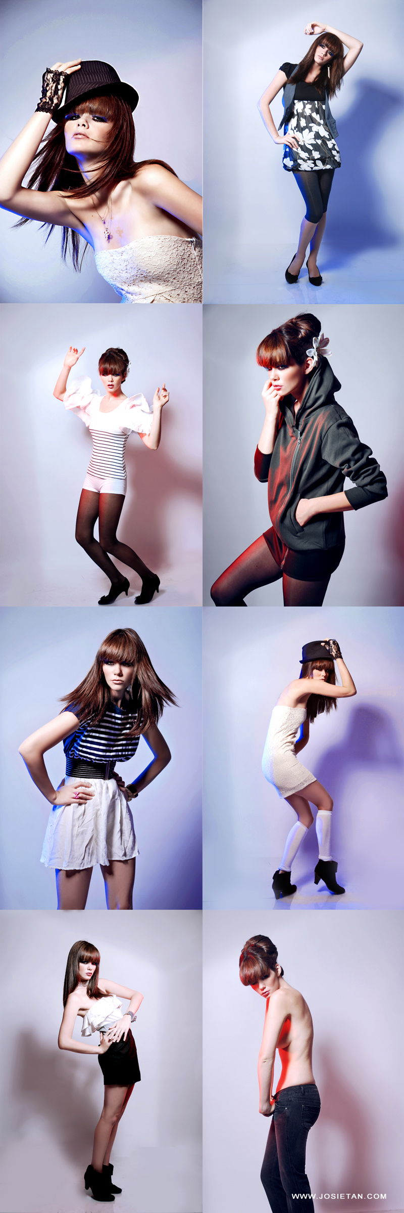 Female model photo shoot of MandyPauline commercial by Josie Tan Photography