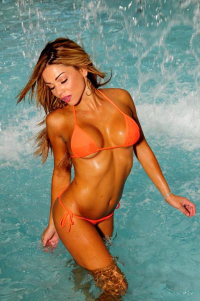 Female model photo shoot of Alison Garcia in nassau Bahamas