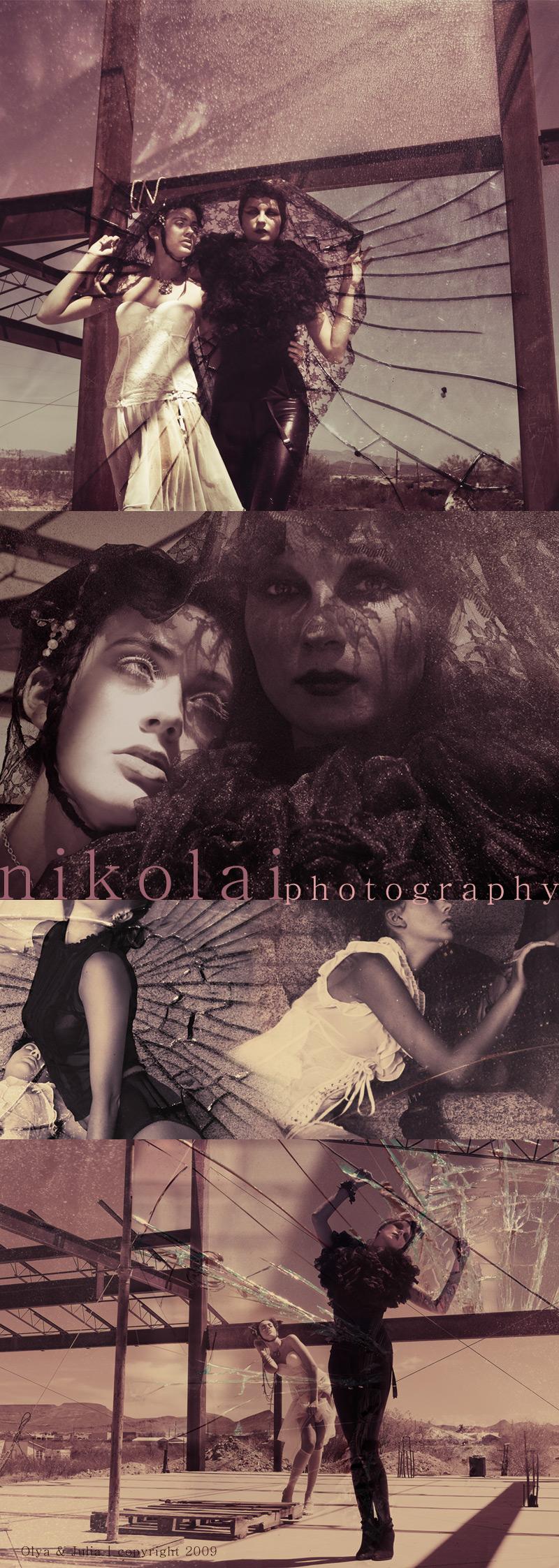 Sep 16, 2009 Nikolai Photography Olya and Julia, The Agency AZ