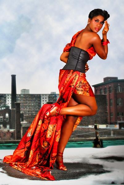 Baltimore Sep 16, 2009 photog: adebayo; mua: neeki; stylist: akemah c; fabric from viola ricci..