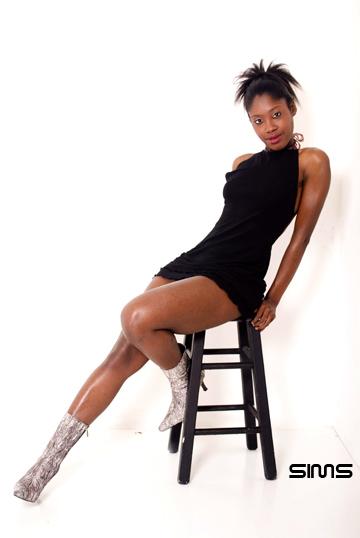 Female model photo shoot of Nya Fiya by SIMS/F11 in atlanta, ga