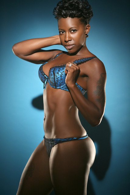 Female model photo shoot of OMeeka  by FRANK ANTONIO in frank antonio studio