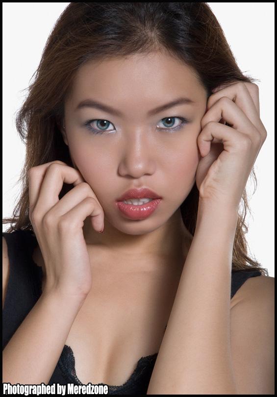 Female model photo shoot of Sizzle Hot Baby by Meredzone Studio