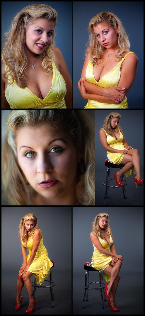 kansas city MO Sep 21, 2009 yellow dress-series by amanda bailey